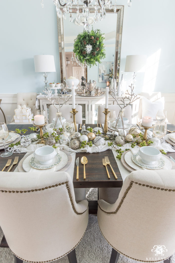 Easy-Store-Bought-Holiday-Meal-Ideas-How-to-Dress-Up-Mashed-Potatoes-woodland-tablescape